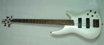 Ibanez SDGR SR300 Electric Bass Guitar in Pearl White