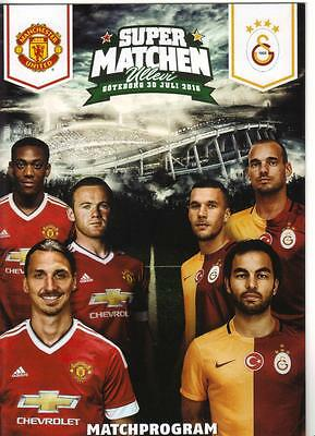 2016/17  Manchester United  v  Galatasaray  In Gothenburg  Super Matchen    MINT