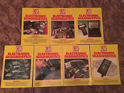 Car Mechanics Electronic Diagnostics Books Volume 1-7