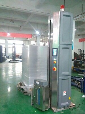 Stainless steel pallet wrapping machine pallet wrapper