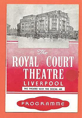 The Royal Court Theatre, Liverpool,  Programme. 2nd February 1949.