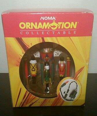 Rotating Nut Crackers Noma Collectable Ornament with Ornamotion Motor Included