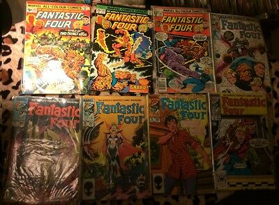 Fantastic Four #162, 163, 182, 253, 280, 281, 287, 300 (8 Issues)
