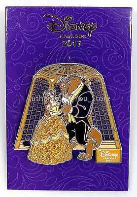 NEW 2017 Disney Chase Visa Beauty and the Beast Dancing Belle Slider Pin