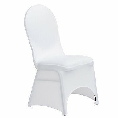 100 Chair Covers Spandex Lycra Wedding Banquet Anniversary Party Décor