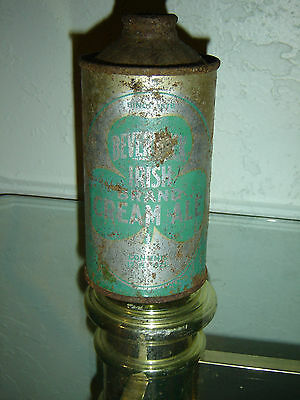 Antique Rare Beverwyck Cream Ale IRTP Low Profile Cone Top Beer Can