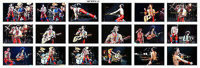 8x12 inch  photo(s)  QUEEN FREDDIE MERCURY BRIAN MAY 1980 NYC  BUY 1,2...OR ALL