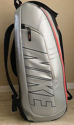 Nikecourt Tech 1 Tennis Bag Backpack Up To 12 Rackets.