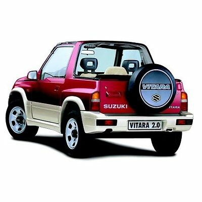 Suzuki Vitara JL JLX 1988-1998 Workshop Service Repair Manual