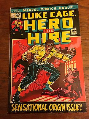LUKE CAGE Hero for Hire 1 - Marvel Comic 1972