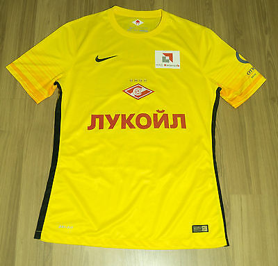 Spartak Moscow GK Nike Match Issued Shirt