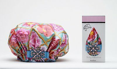 Dry Divas Shower Cap English Garden