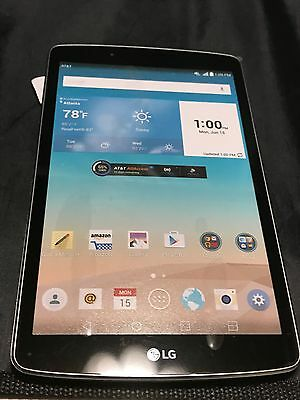 New Dummy Display Rep Lg Gpad F 8.0 Silver Non Working Dummy Display Rep Pad