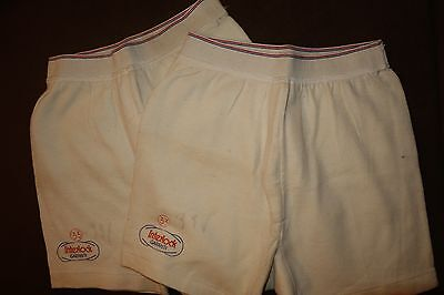 LOT of 2 VINTAGE BOYS/MENS FRENCH BOXER BRIEF UNDERWEAR, NOS, Size S