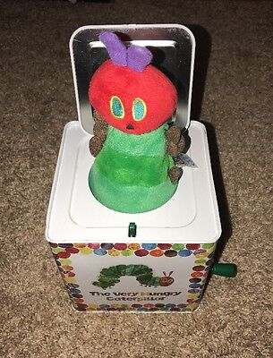 The Very Hungry Caterpillar Collectible Jack in the Box