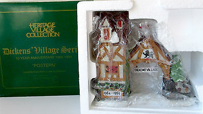 NEW IN BOX Dept. 56 POSTERN Limited to 1994 Anniversary Heritage Dickens Village