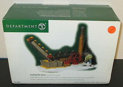 Department 56 - Loading The Grain #56688 - New England Village Series