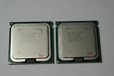 Matched pair of Intel Xeon X5482 3.2 GHz Quad-Core SLANZ Processor w/Grease