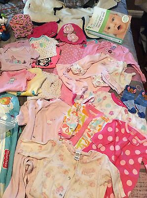 Newborn Baby Girl Layette Clothing Lot Designer Gap Osh Kosh