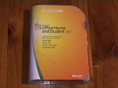 Microsoft Office Home And Student 2007 - Boxed-Original Microsoft-Free Post