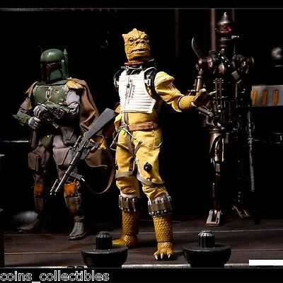 """Star Wars Boosk Bounty Hunter 12"""" 1/6th Sixth Scale Sideshow Collectibles Figure"""