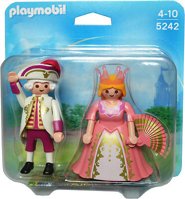 Playmobil 5242 Duke and Duchess ~Victorian ~Castle ~Dollhouse - New, Sealed