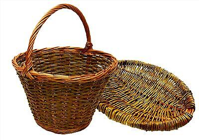 Make these Willow Shopping and Frame Baskets, 2 weaving kits for beginners.