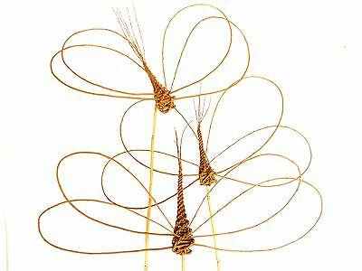 Make 3 Willow Garden Dragonflies: a basketry kit for complete beginners.