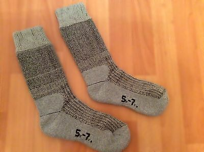 Brasher 2-3 Season Hiking Socks Grey Size 4-5