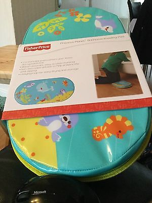 Fisher Price Precious Planet Baby Bathtime Kneeling Mat Pad New in packaging