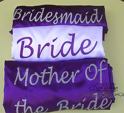Bridesmaid Robes Bridal Party Robes Dressing Satin Robes Wedding Robes