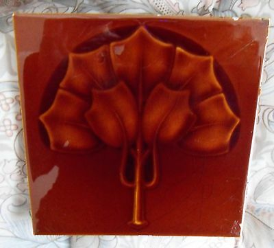 "Original  English  Art Nouveau tile , c1905 6""x6""Tile 1188"