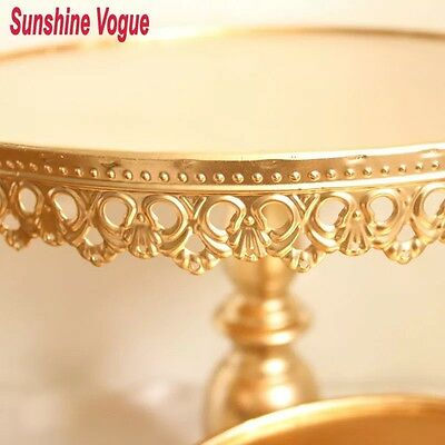 10 Inch/25cm  Gold  Cake Stand For Birthday Wedding Parties