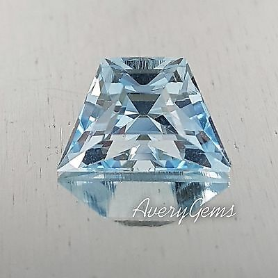Aquamarine Loose Natural Gemstone 2.2 Ct Precious Gem Precision Cut By AveryGems