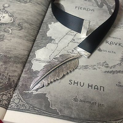 Six of Crows Feather Ribbon Bookmark Cheap Novelty Gift