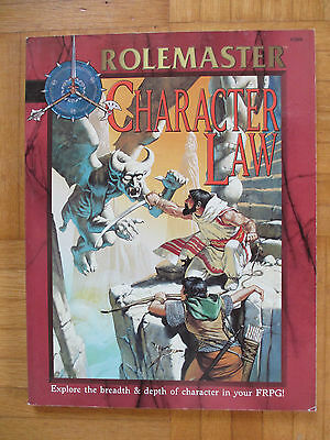 RoleMaster – CHARACTER LAW - Englisch 5806 – ICE FRPG Guide RM Fantasy Role Play