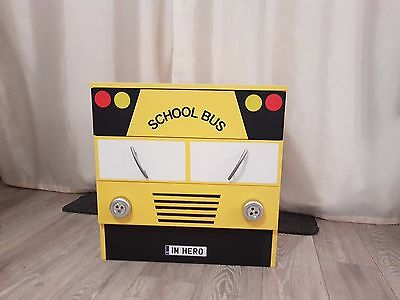 Kids chest with drawers; School Bus (incl. 3 drawers)