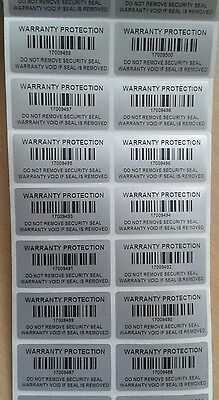 40mm X 20mm Warranty Void Stickers Tamper proof Labels Security seal protection