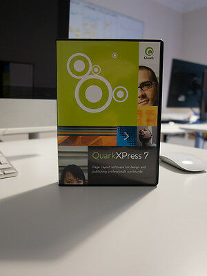 Quark XPress 7 Mac and Windows