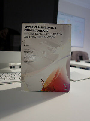Adobe Creative Suite 3 (CS3) - InDesign, Photoshop, Illustrator - Mac