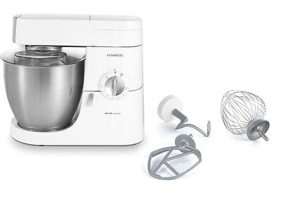 Kenwood White Stand Mixer Premier Chef Home Food Biscuit Bread Kitchen Maker