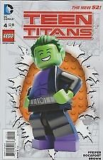 Dc Comics Teen Titans #4 New 52 Lego Variant