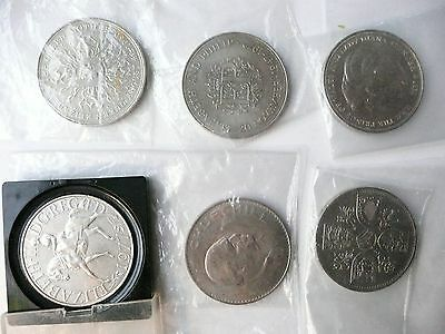 British coins crowns - set of 6 different