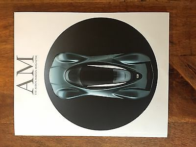 Aston Martin Magazine/Brochure (featuring the AM-RB 001 Red Bull Aston Project )