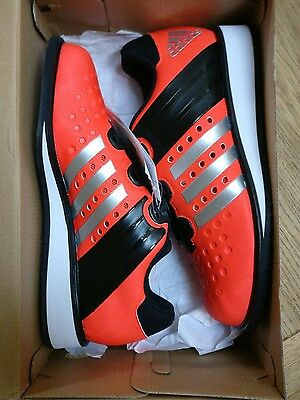Adidas Drehkraft Weightlifting Shoes -  Solar Red UK Size 5