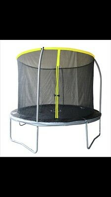 Sportspower 10ft Trampoline with Enclosure. Dismantled ready for collection.