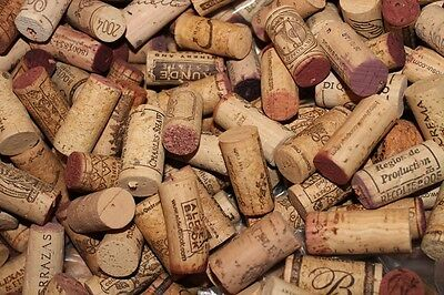 50 Lot  used WINE CORKS assorted brands