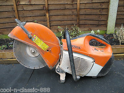 Stihl Ts420 Petrol Cutting Disc Concrete Saw Working Very Good Condition Ts410