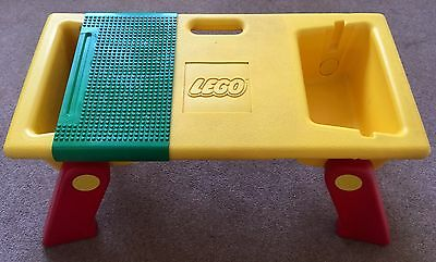 Lego Folding Play Tray Table Lap Desk Storage 1798 / 6787 Yellow, Green, Red