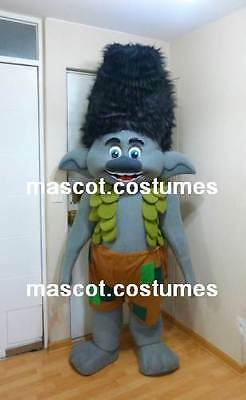 New Special trolls gnome Mascot Costume figure character h1
